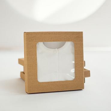 Pudełko na ubranka niemowlęce