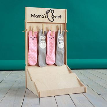 Stojak na skarpetki dla MAMA'S feet